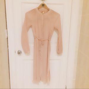 HM nude dress
